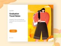 Graduation  travel notes