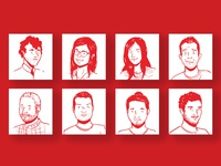 Portraits   Intership report 2017