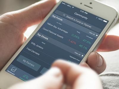 Stock App ios trading stock iphone ui