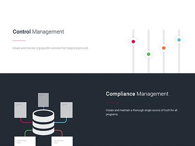 Enterprise Risk Management - Website bright minimal color bold illustration ux ui web website management risk enterprise
