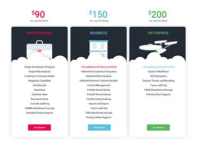 Website Pricing Page pricing price website web ux ui minimal management illustration color bright bold