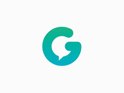 Grupo NGN Logo talk g branding brand chat logo
