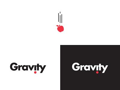 Gravity Logo meetup agency gravity typography branding logo design animation illustration