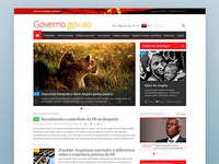 Official website of the Republic of Angola government