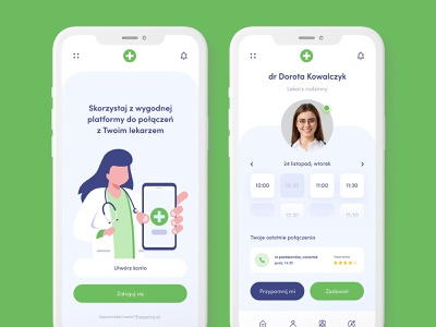 Medical application - concept call app medical app doctor chat ui concept design medic careful