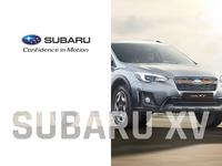 Subaru XV - landing page