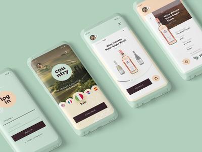 Wine app concept