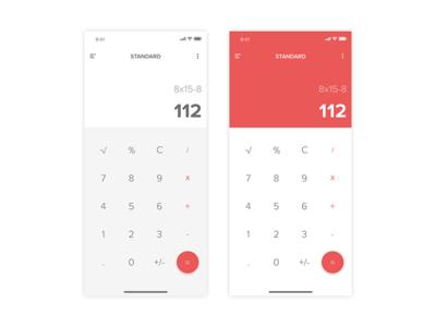 Calculator - #dailyui #003