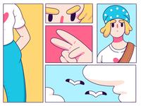 Manga Style Illustration