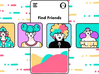 Find Friends
