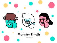 Monster Emojis