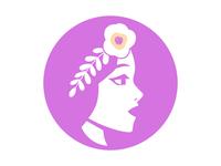 Beauty logo woman