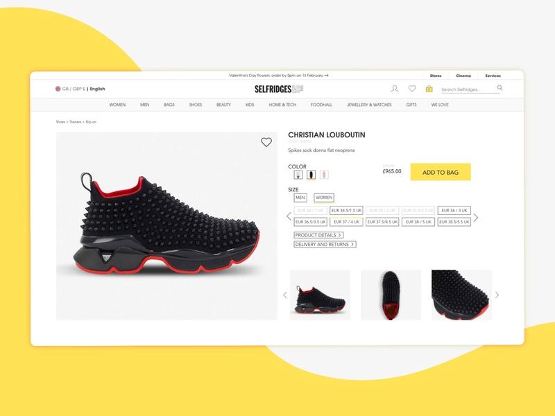 Daily UI 012 :: E-Commerce