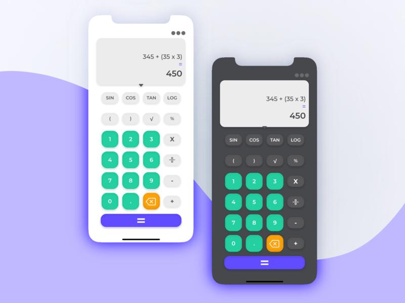 Daily UI :: 004 Calculator
