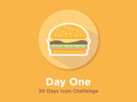 Hamburger Icon - 30 days challenge