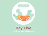 Tangerine - icon challenge