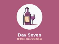 Wine - 30 days icon challenge