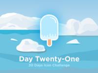 Iceberg - icon challenge