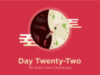Escape from the spicy side - icon challenge