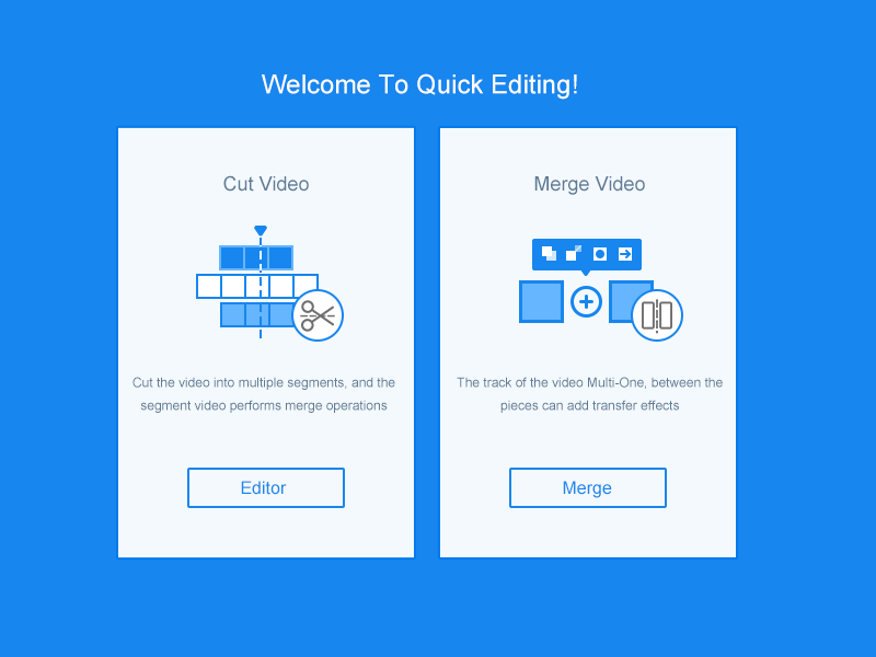 Video Editing Feature Selection by DaDuan on Dribbble