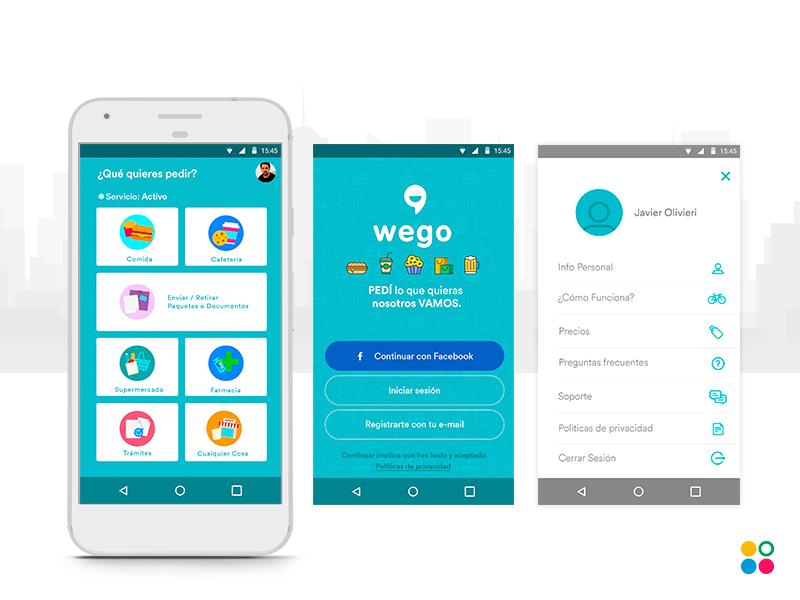 Wego App - Delivery App - Android & iOS - React Native by NextDots