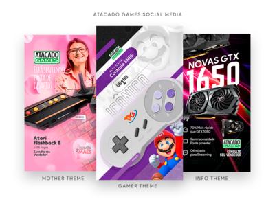 Atacado Games Social Media Themes