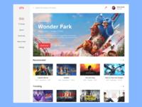 Daily UI #25 TV App