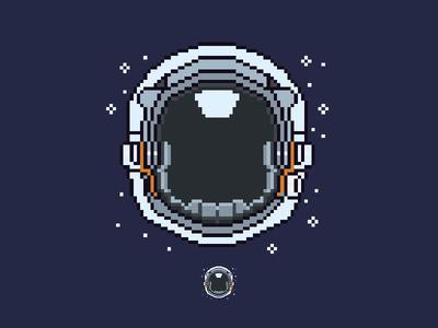 Pixel Astronaut