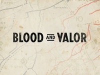 Blood And Valor Logo