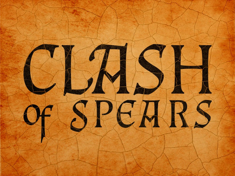Clash Of Spears brand identity ancients branding identity tabletop games logo