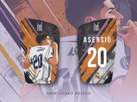 Asensio In Shin Guard Design