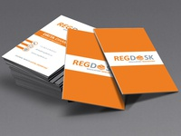 RegDesk Business Card Designs