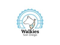 Logo Design - Walkies San Diego