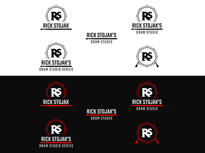 Logo Design - Rick Stojak rick stojak identity brand vector design logo
