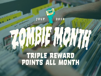 Zia Records • Zombie Month Campaign