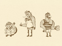 Woodshed • Character Design