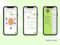 FamilyHub screens