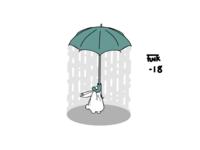 Rainy Day Rabbit