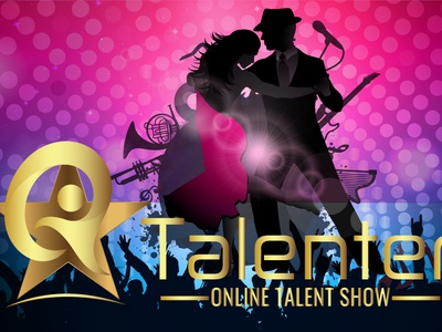 BANNER AND LOGO FOR A TALENT SHOW