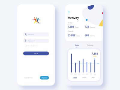 an activity app design 1