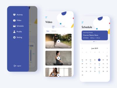 an activity app design 2