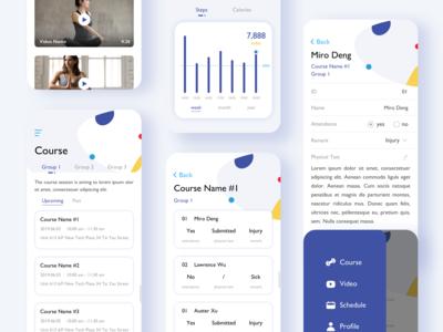 an activity app design 3