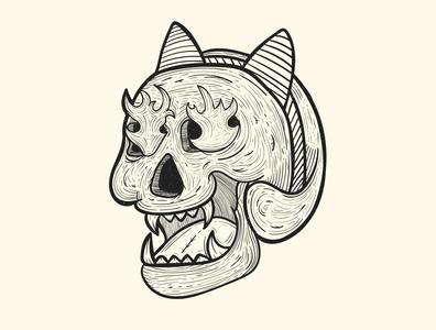 Skull and Bandana