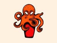 Octopus Illustration vector art apparel clothing design t shirt design cartoon vector colorful character design drawing adobe illustrator 2d character art illustration design