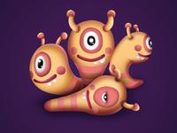 4 Caterpillar Brothers