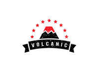 Logo design for Volcanic logo