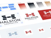 Halston Properties Branding Design