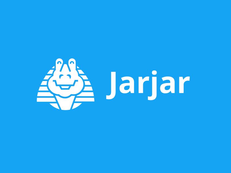 Jarjar star wars jar jar binks starwars logo icon illustration