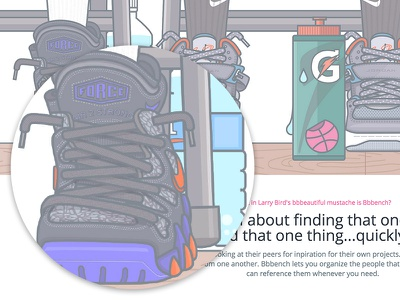 Bbbench Hero - Nike Air Max 2 Strong's  shoes waterbottle basketball shoes shoelaces shoe illustration nike bench nike air max 2 strong basketball nike air max shoe illustration