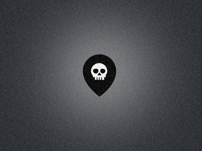Skull + Location Pin